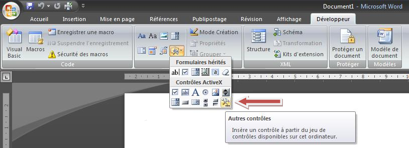 ins u00e9rer une animation flash dans un document word